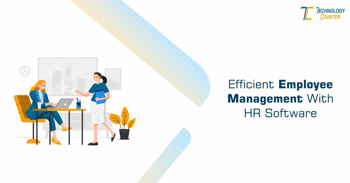 Efficient employee management with HR software