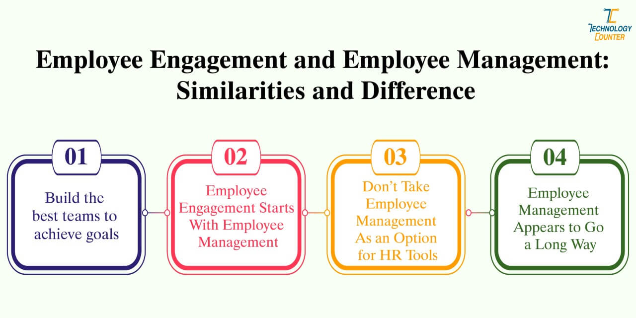 Employee engagement and employee management similarities and difference
