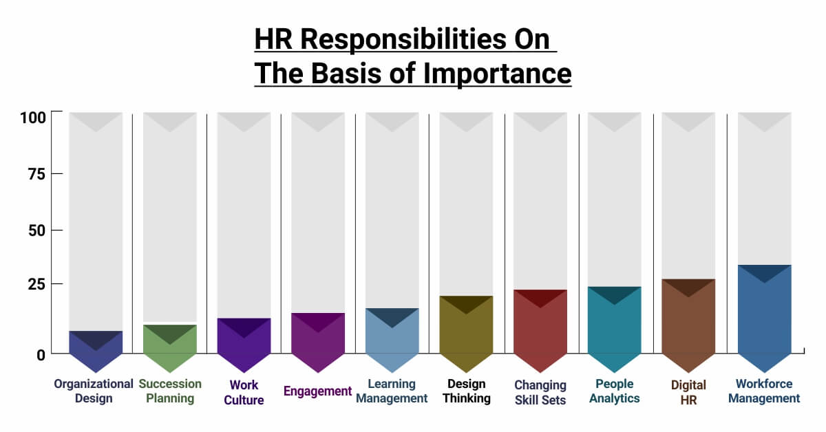 HR Responsibilities on Basis of the Importance