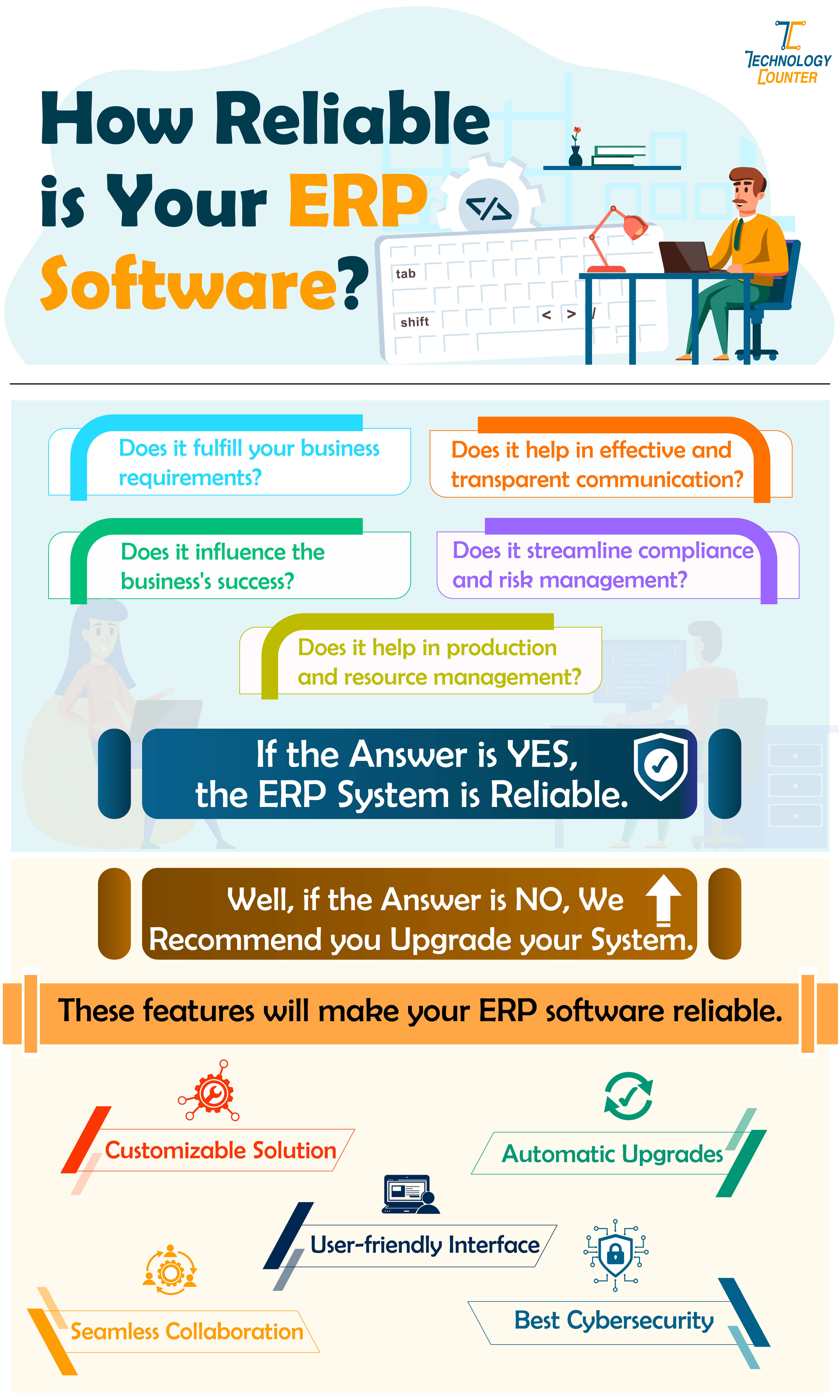 How reliable is your ERP: 5 tips?