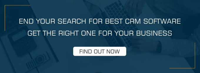 find the best CRM software your business