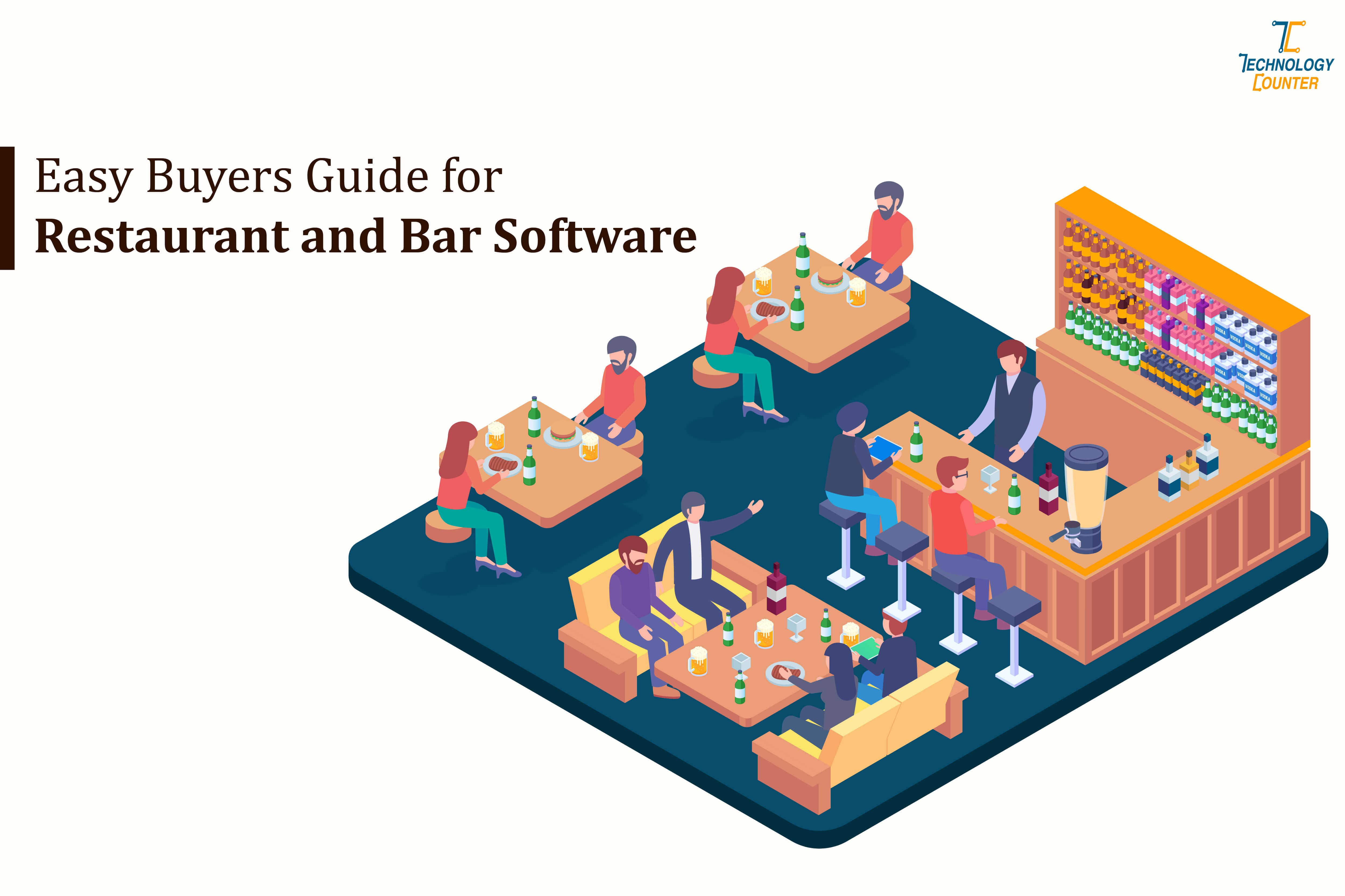 Easy buyers guide for Restaurant and Bar Software
