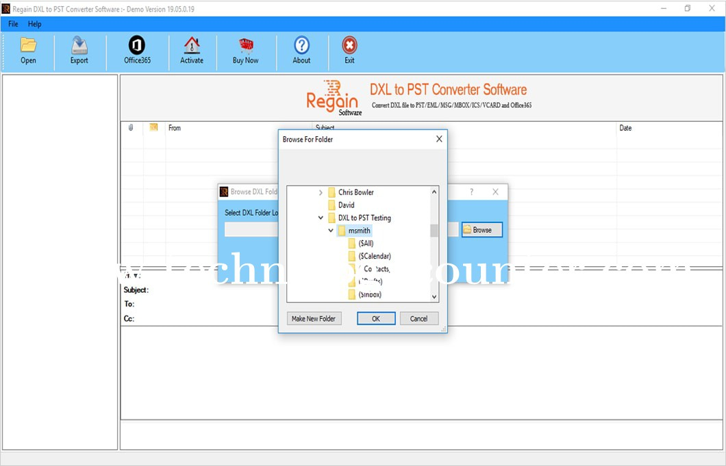 Regain DXL to PST Converter Software
