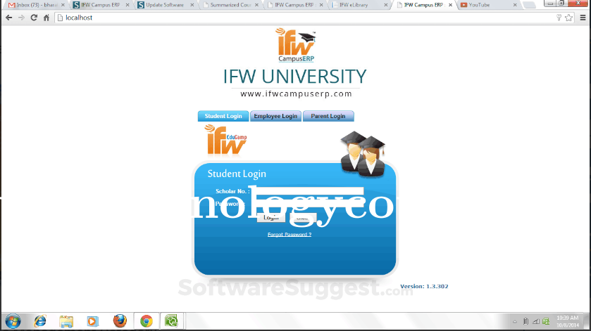 IFW Campus ERP