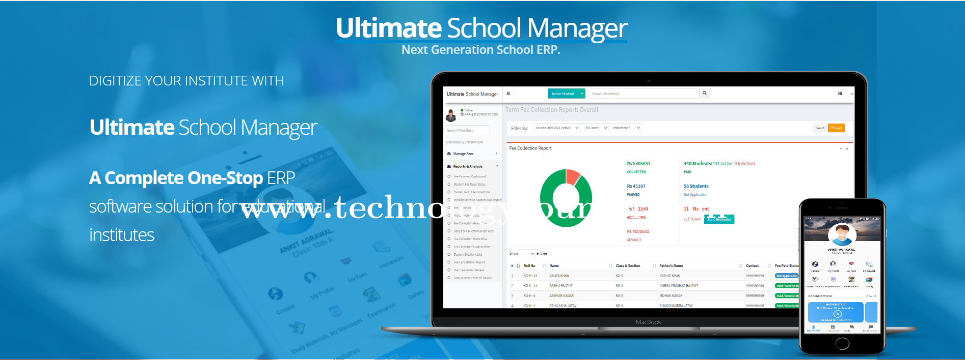 Ultimate School Manager