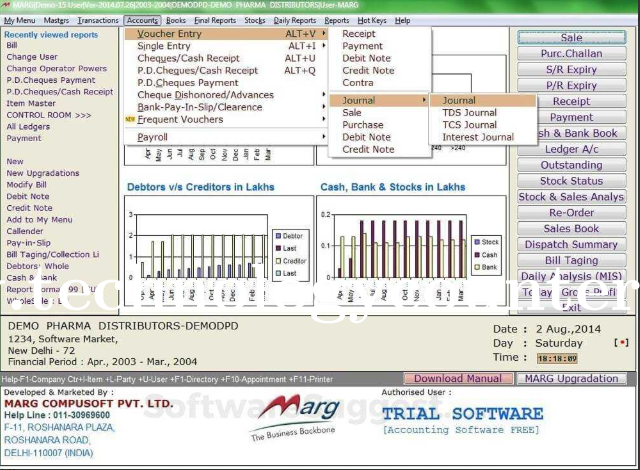 MARG ERP 9+ Accounting Software