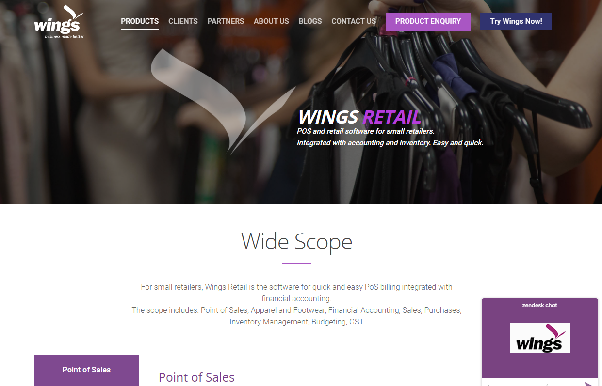 Wings Retail