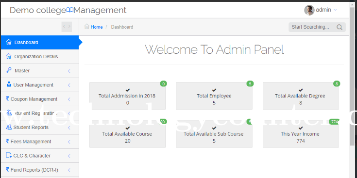 GIMS - Institution Management System