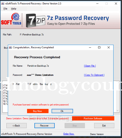 eSoftTools 7z Password Recovery.