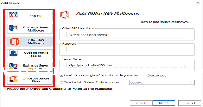 WholeClear Exchange to Office 365 Migration